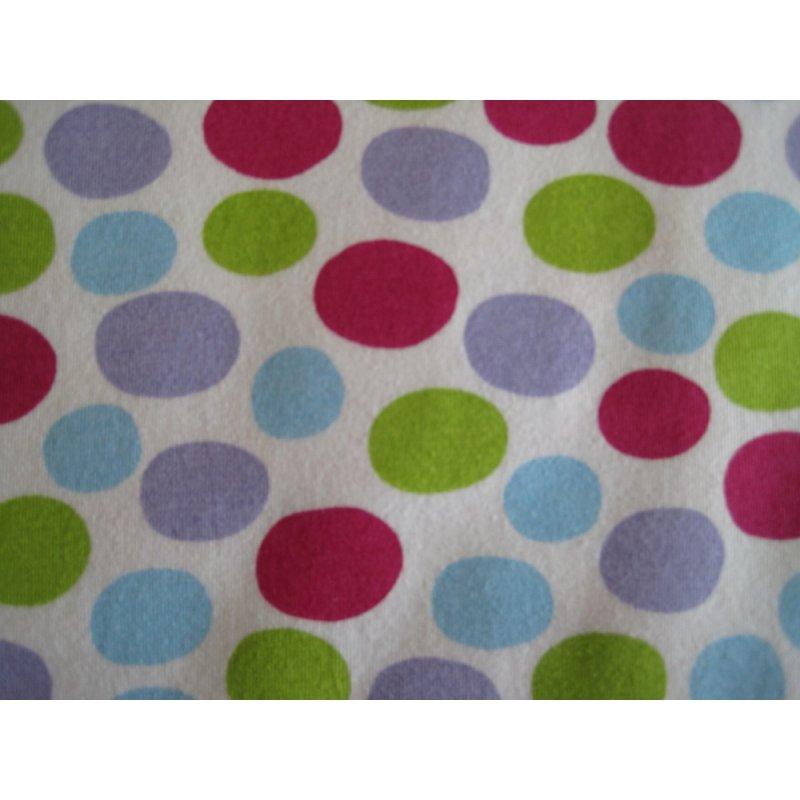 hilco mischa puntos punkte in pink gr n blau lila auf wei. Black Bedroom Furniture Sets. Home Design Ideas